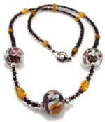 Amethyst Garden Necklace